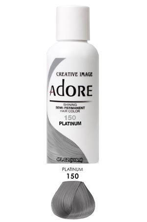 [Adore-box#1] Semi Permanent Hair Color (4 oz)- #150 Platinum