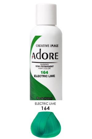[Adore-box#1] Semi Permanent Hair Color (4 oz)- #164 Electric Lime
