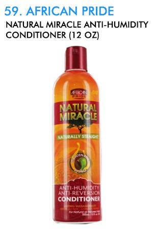 [African Pride-box#59] Natural Miracle Anti-Humidity Conditioner (12 oz)
