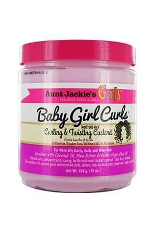[Aunt Jackie's-box#8] Girls Curling Twisting Curstard (15 oz)