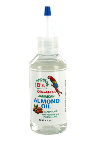 [B's Organic-box#9] Almond Oil_Scalp Food (4oz)