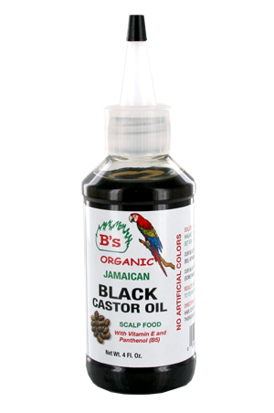 [B's Organic-box#6] Black Caster Oil_Scalp Food (4oz)