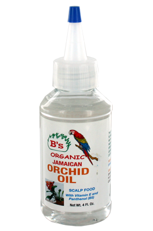 [B's Organic-box#22] Jamaican Orchid Oil (4oz)