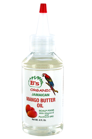 [B's Organic-box#1] Mango Butter Oil _ Scalp Food (4oz)