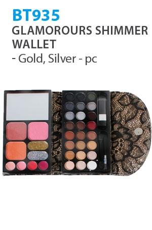 [BT935-box#28] Beauty Treats Glamorours Shimmer Wallet-pc