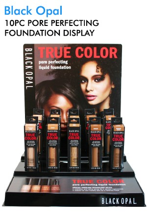 [Black Opal] Pore Perfecting Foundation Display (5 colors, 10pc/display)