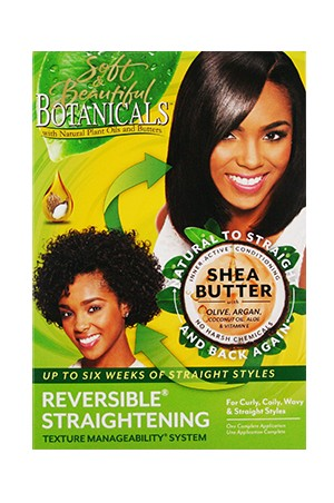 [Botanicals-box#8] Shea Butter Reversible Straightening kit