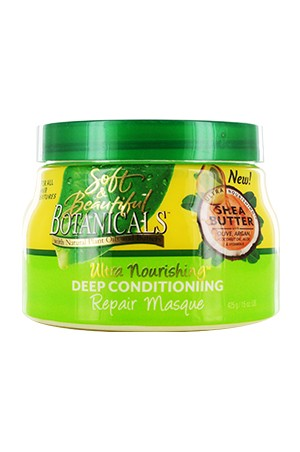 [Botanicals-box#10] Shea Butter Deep Conditioning Repair Masque (15oz)