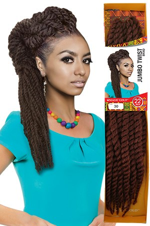 Jumbo Twist Braid 22""