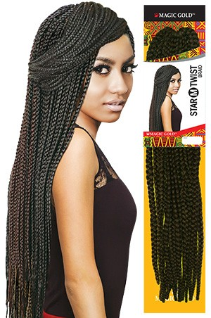 Star (M) Twist Braid 24""