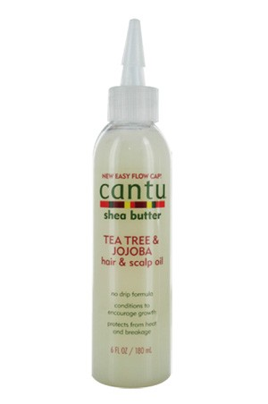 [Cantu-box#25] Shea Butter Tea Tree&Jojoba Hair & Scalp Oil (6 oz)
