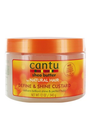 [Cantu-box#27] Shea Butter Natural Hair Define & Shine Custard (12 oz)