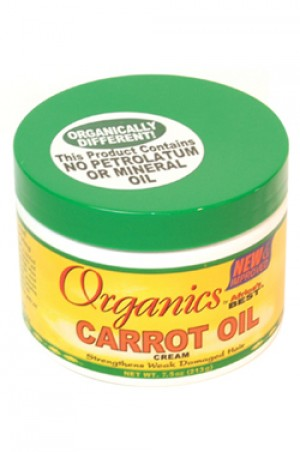 [Africa's Best-box#25] Organics Carrot Oil Cream (7.5 oz)