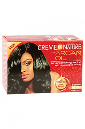 [Creme of Nature-box#54] Argan Oil Relaxer Kit - Super