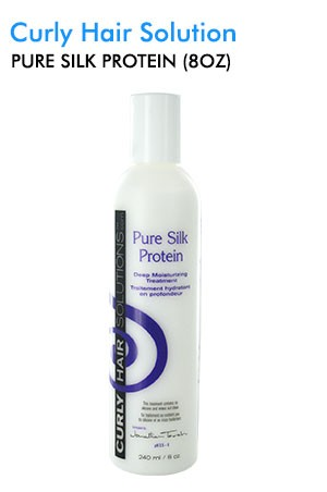 [Curly Hair Solutions-box#7] Pure Silk Protein (8oz)