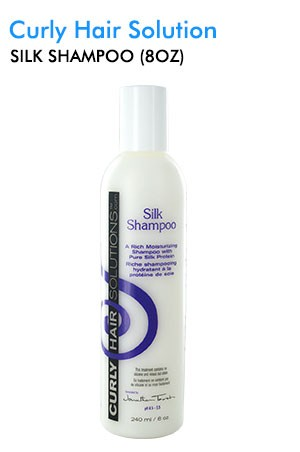 [Curly Hair Solutions-box#5] Silk Shampoo (8oz)