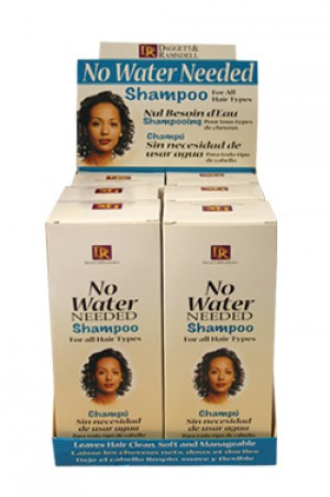 [D & R-box#17] No Water Needed Shampoo (6oz)-pc