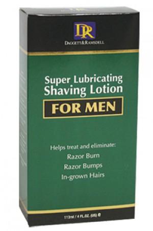 [D & R-box#22] Super Lubricating Shaving Lotion for Men (4oz)