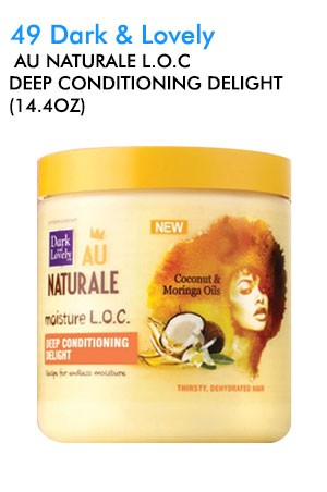 [Dark & Lovely-box#49]  Au Naturale L.O.C Deep Conditioning Delight (14.4oz)