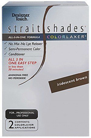 [Designer Touch-box#24] Straight Shades Colorlaxer (2app)-#Iridescent Brown