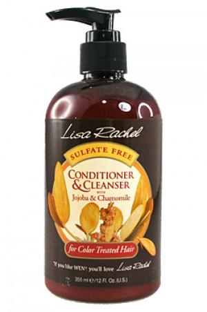 [D & R-box#185] Lisa Rachel Jojoba & Chamomile Conditioner & Cleanser - for Color Treated Hair (12oz)