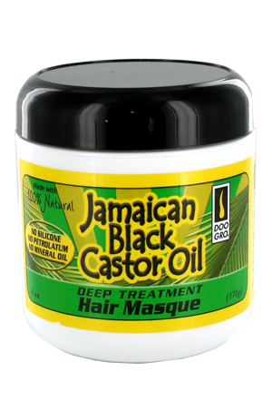[DooGro-box#39] Jamaican Black Caster Oil Hair Masque (6oz)