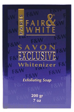 [Fair & White-box#18] Exclusive Whitenizer Exfoliating Soap (200g)