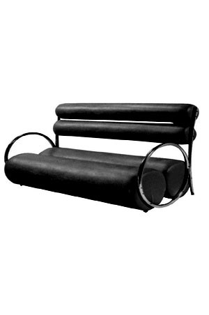 WAITING SOFA F122 -Black