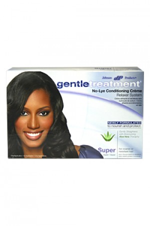[Gentle Treatment-box#4] No-Lye Relaxer - Super