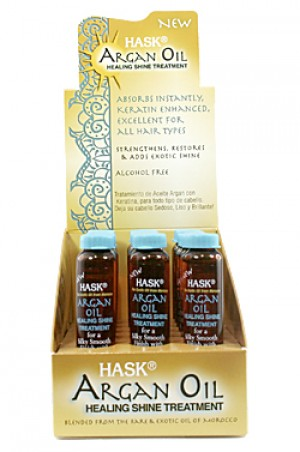 [Hask-box#26] Hair Treatment - Argan Oil (18ml/18pc/ds)