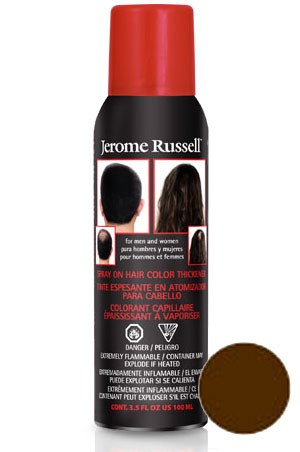 [Jerome Russell] Hair Thicker Spray #Medium Brown