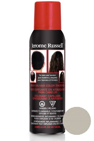 [Jerome Russell] Hair Thicker Spray #Silver/Gray