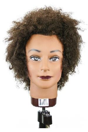 """[#M4151BK] Practice Mannequin Afro 8"""" -pc"""