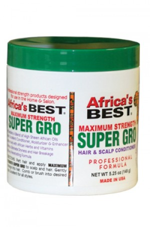 [Africa's Best-box#5] Maximum Strength Super Gro (5.25 oz)