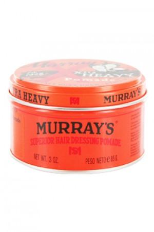 [Murray's-box#25] Pomade-Extra Heavy-3oz