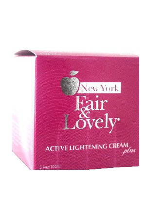 [New York Fair & Lovely-box#2] Active Lightening Cream Plus (100 ml)