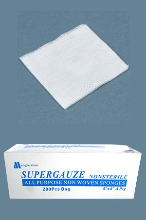 Super Gauze All Pupose Non Woven Sponges (200 pcs/box)
