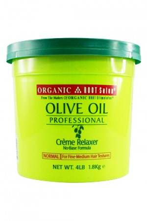 [Organic Root-box#52] Olive Oil Creme Relaxer  -Normal (4lb)