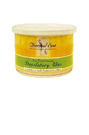[Mastex Thermal Spa] Tea Tree Depilatory Wax 14oz. (#PAR313)