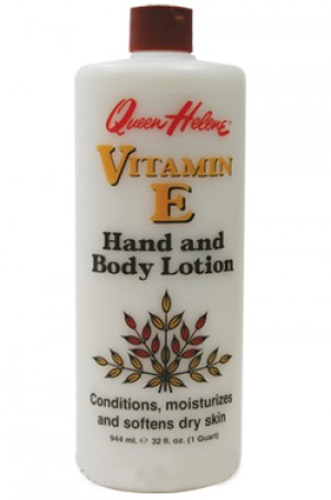 [Queen Helene-box#6] [Vitamin E] Hand & Body Lotion-32oz