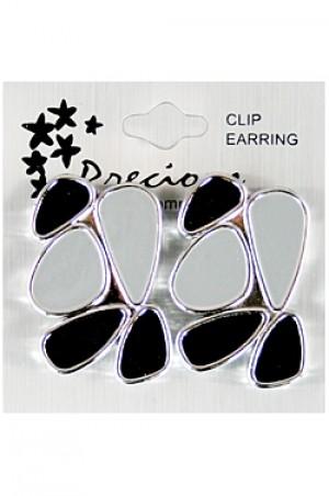 Precious Clip Earring  - #SSE4655S (dz)