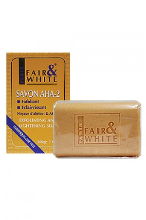 [Fair & White-box#4] Savon-Aha2 Exfoliating & Lightening Soap (200g)