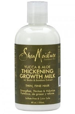 [Shea Moisture-box#2] Yucca & Aloe Thickening Growth Milk (8oz)