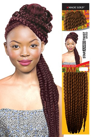 Star (Jumbo) Twist Braid 24""