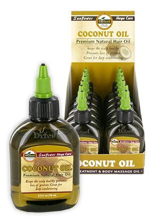 [Sunflower-box#10] Diffel Premium Natural Hair Oil (2.5oz)-Coconut