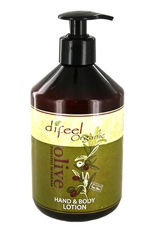 [Sunflower-box#24] Diffel Olive Body & Hand Lotion (16oz)