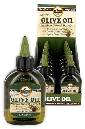 [Sunflower-box#7] Diffel Premium Natural Hair Oil (2.5oz)-Olive