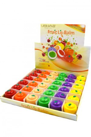 [USHAS-#LS136] Fruit Lip Balm (7.5 g/36pcs/display)
