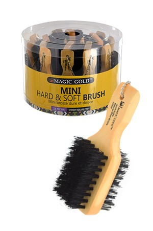 [Magic Gold-#6806] Wooden Tool Brush for Wig  (18pc/jar) -jar
