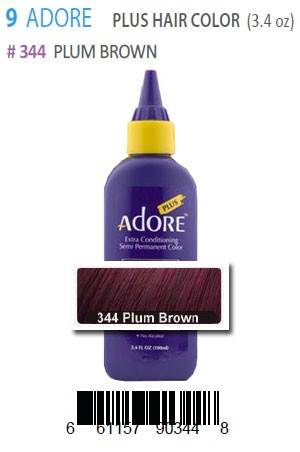 [Adore-box#9] Plus Hair Color #344 Plum Brown